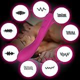 ハンディーマッサージャー 電動マッサージ器 小型 9種類振動モード USB充電 コリ解消 肩こり マッサージ シリコーン製 静音 防水 肩 背中 腕 腰 足などの全身に適用 1年保証 女性用 (03)