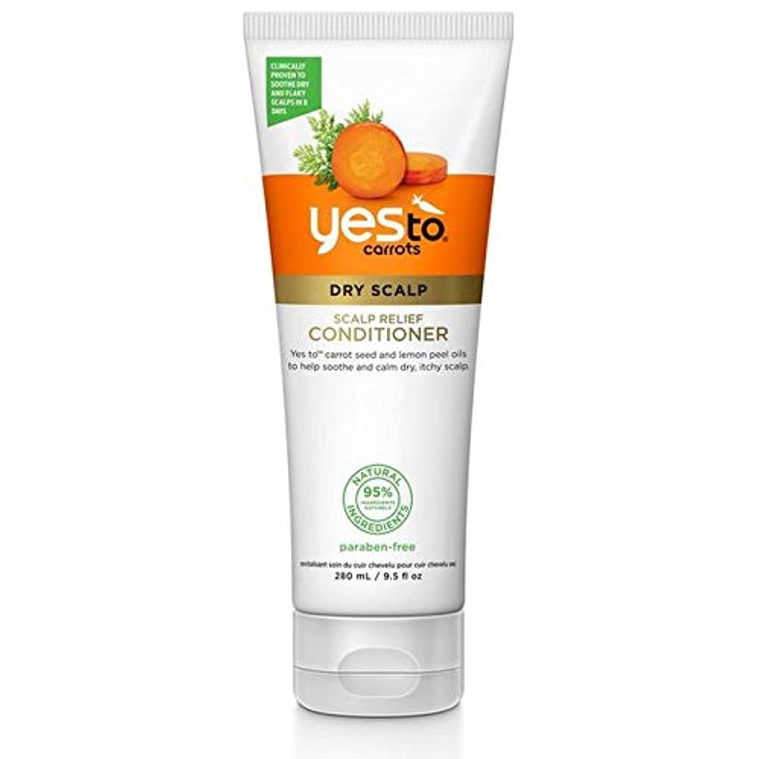 [YES TO! ] はいニンジンに頭皮の救済コンディショナー280ミリリットル - Yes To Carrots Scalp Relief Conditioner 280ml [並行輸入品]