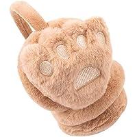Lovely Earmuffs Plush Earmuff Warm Earmuffs for Kids Or Adults [Cute Paws-4]
