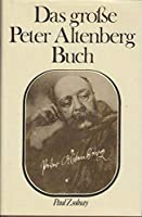 Das grosse Peter Altenberg Buch