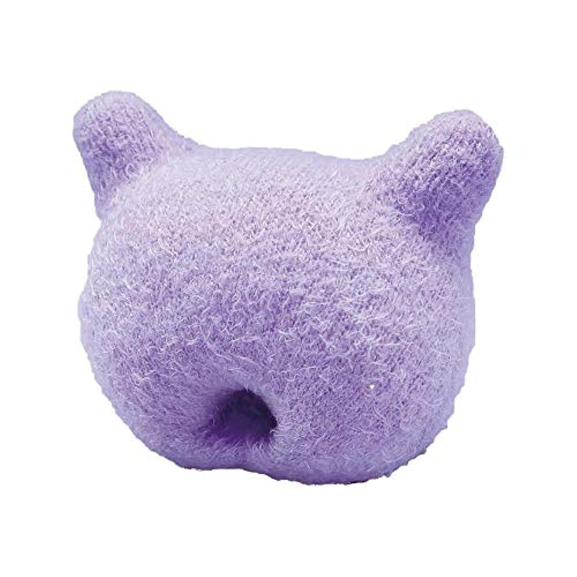 ダウン伝染性横にふかふか手のまくら(猫型)