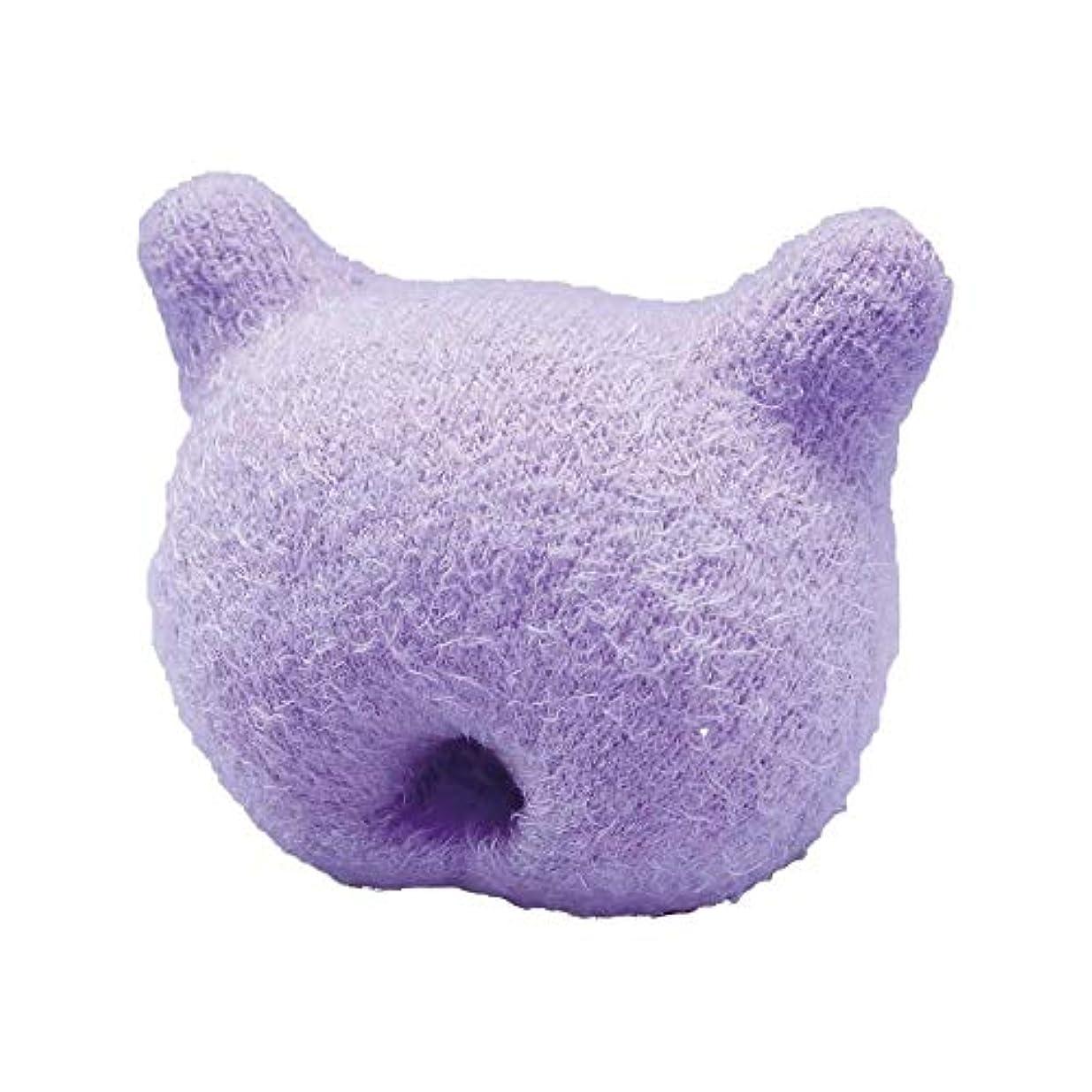 虚偽放置ピーブふかふか手のまくら(猫型)