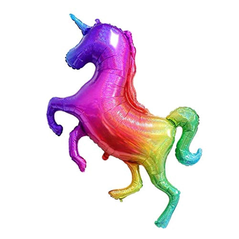 amleso 虹のバルーン カラフル 風船 可愛い ユニコーン