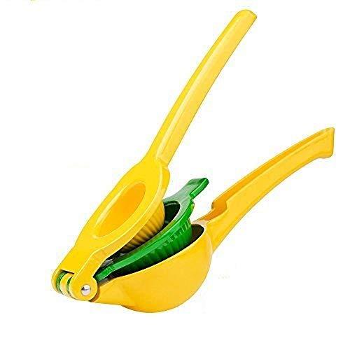 レモンしぼり 手動 ジューサー 2-in-1 lemon squeezer lemon juicer プレミアム 品質 アルミ合金 マニュアル 絞り器 フルーツしぼり ゆず絞り器 グレープフルーツ絞り器 レモン絞り機 レモン オレンジ レモン絞り ハンドジューサー ゆずしぼり器 しぼり レモン搾り器 プレス