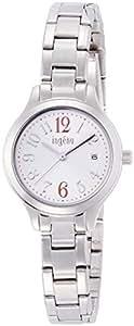 [アンジェーヌ]ingene 腕時計 クオーツ 無機ガラス 3気圧防水 AHJT413 レディース