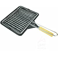 UPIT Grill Pan with Gridiron for Meat and Fish Dish 25cm x 21cm 1ea