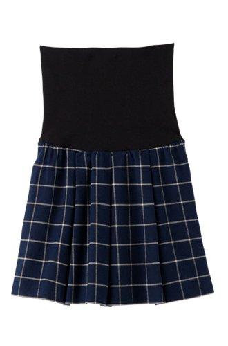 [해외]Angeliebe 엔제리베 산전 산후 대응 맞는 스트레칭 체크 정력 스커트/Angeliebe Angelivee prenatal fit stretch check tuck skirt