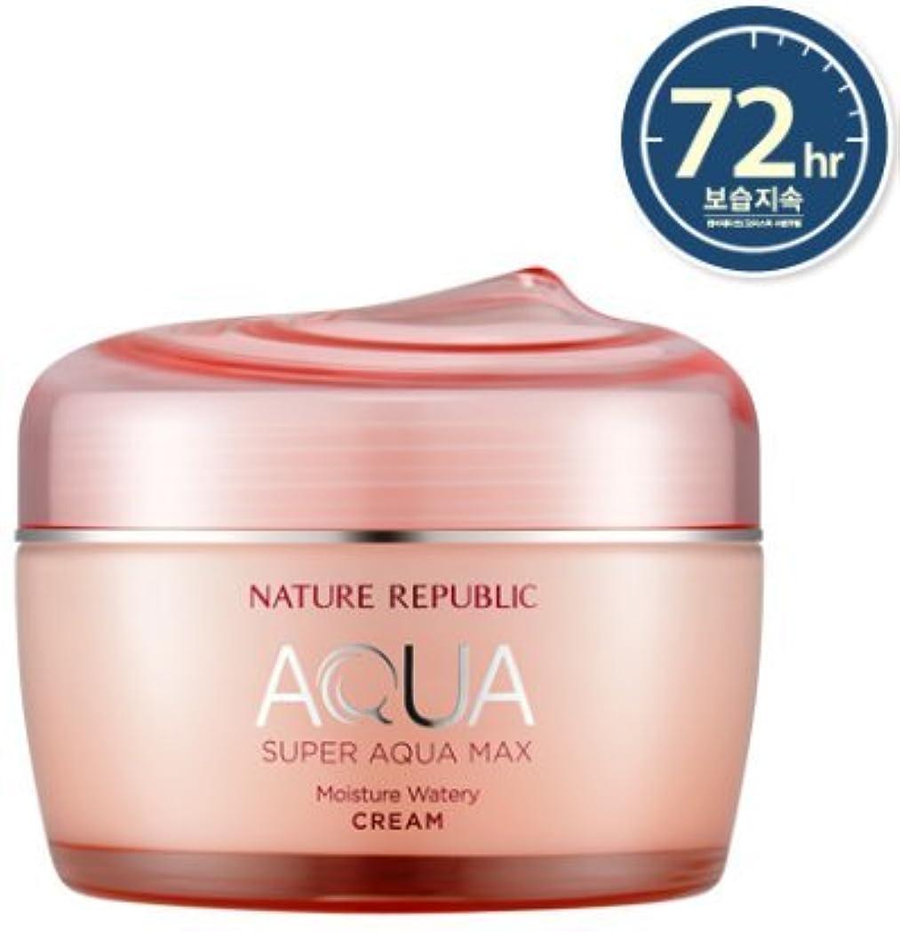 トリム意味のあるロードハウス[NATURE REPUBLIC] スーパーアクアマックスモイスチャー水分クリーム / Super Aqua Max Moisture Watery Cream 80ml (乾燥肌用) [並行輸入品]