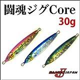 ダミキジャパン メタルジグ 闘魂ジグ Core 30g