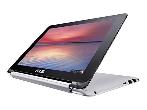 ASUS Chromebook Flip 10.1-Inch Convertible 2 in 1 Touchscreen (Rockchip, 4 GB, 16GB SSD, Silver) [並行輸入品]
