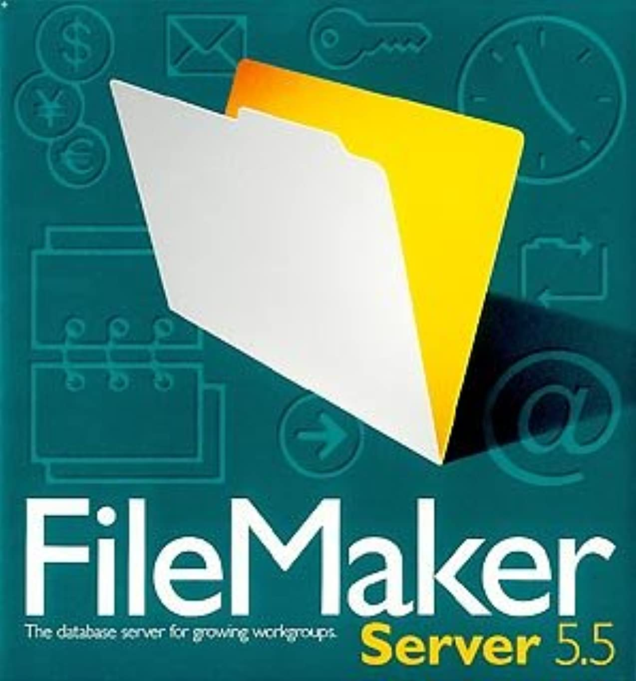 収益迫害ヒントファイルメーカー Server 5.5 Macintosh版