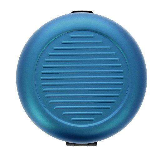 [OGON/オゴン] アルミラウンド コインケース/日本円 ギフト アルミニウム ビジネス プレゼント メンズ ブランド おしゃれ (ブルー)