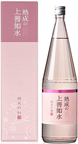 白瀧酒造 株式会社 白瀧 熟成の上善如水 純米吟醸 1.8L × 6本