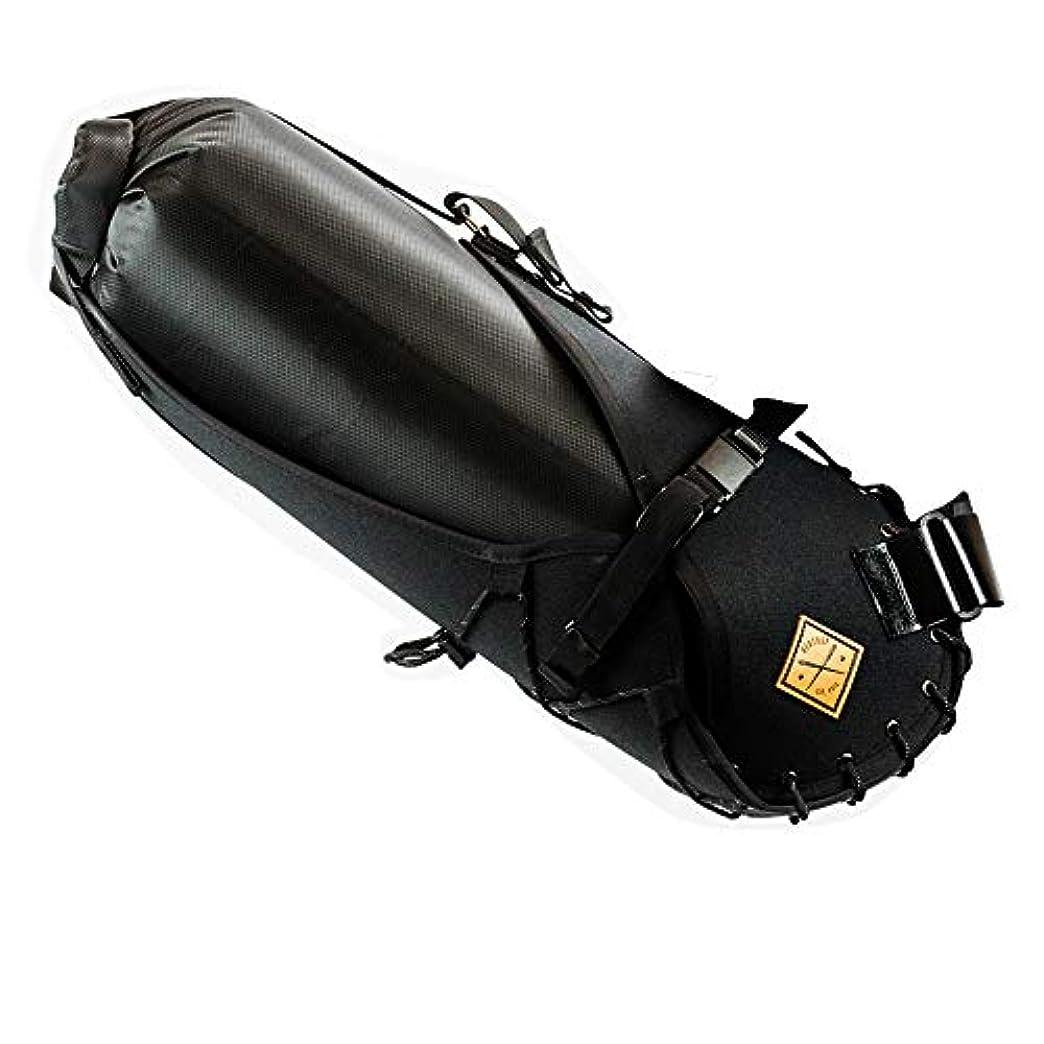入るムスタチオ薬レストラップ(Restrap) SADDLE BAG (14L ドライバッグ 付属) ブラック RSSB1LRGBLKD
