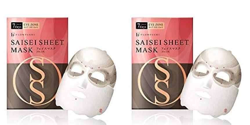 タンク脇に囚人【2個セット】SAISEIシート マスク [目もと用] 7days 2sheets×2個