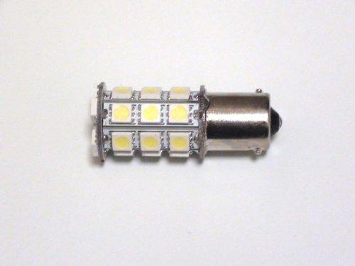 S25 27連 LED バルブ シングル球 ホワイト 2個セット テールランプ・ブレーキランプに