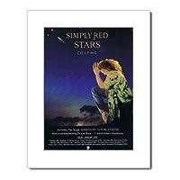 SIMPLY RED - Stars Mini Poster - 28.5x21cm