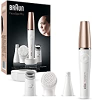 Braun Braun FaceSpa Pro 911 Facial Epilator White/Bronze with 3 Extras,