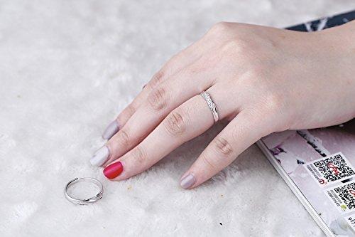 純銀製指輪 リングレディース 指輪レディース キラキラ 結婚指輪 婚約指輪 フリーサイズ