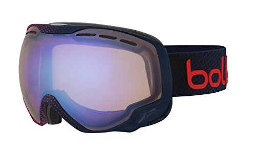 BOLLE EMPEROR GOGGLES (BLUE AND RED DOTS FRAME AURORA LENS)