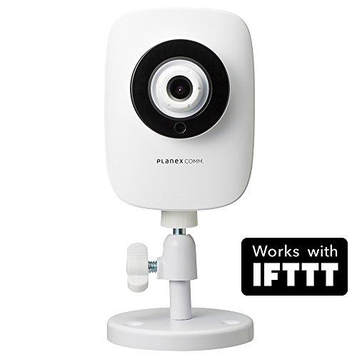 PLANEX ネットワークカメラ スマカメ話せるナイトビジョン Google Home/Amazon Alexa対応 暗視機能・双方向通話・モバイルルーター対応・合法カメラ CS-QR22