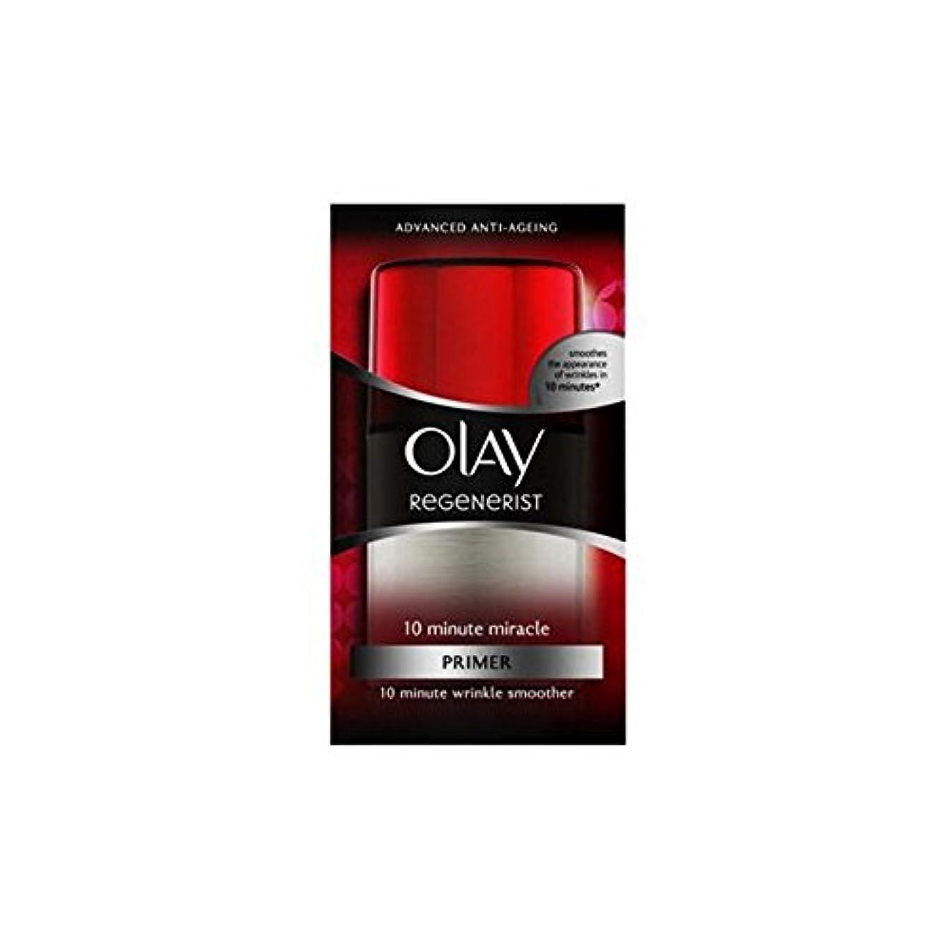 差別溶接スクレーパーオーレイリジェネスーパー10分の奇跡顔の保湿剤(50ミリリットル) x4 - Olay Regenerist Super 10 Minute Miracle Facial Moisturiser (50ml) (Pack...
