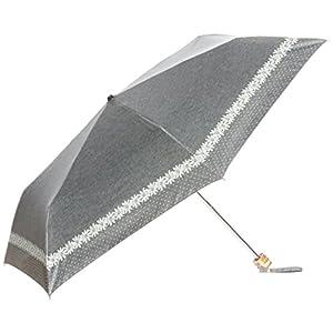 (ムーンバット) MOONBAT Sweet Jasmil 婦人折りたたみ日傘 晴雨兼用(遮熱&遮光率99%以上) マーガレット 22-222-51191-02 15-50 ブラック 親骨の長さ50cm