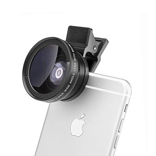 E-More 2 in 1 クリップ式スマホ望遠レンズ カメラレンズキット(12.5倍)