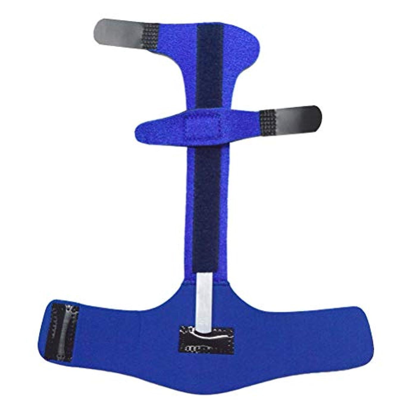 フィルタマイクロフォン願うHealifty 指の添え木ジョイントコレクターサポート矯正手保護スリーブマレット指ブレース痛みを和らげる(青)