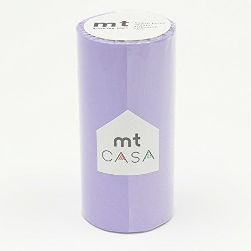 カモ井加工紙 マスキングテープ mt CASA 100mm 100mm幅×10m巻き ラベンダー MTCA1046
