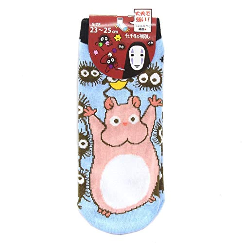 千と千尋の神隠し 靴下 ソックス 坊ネズミとススワタリ 23-25cm