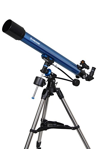 MEADE 天体望遠鏡 EQM-70  星空散歩ライトII 観測キット アクロマート 口径70mm 焦点距離900mm 屈折式 ブルー 003411