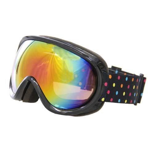 north peak(ノースピーク) ゴーグル スノーボード スキー メンズ レディース 【ダブルレンズ 球面レンズ 紫外線カット くもり止め】 NP-3637 BK