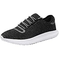Srenket Mens Casual Athletic Sneakers Mesh Running Shoes Lightweight Tennis Footwear for Men Walking Trail Workout