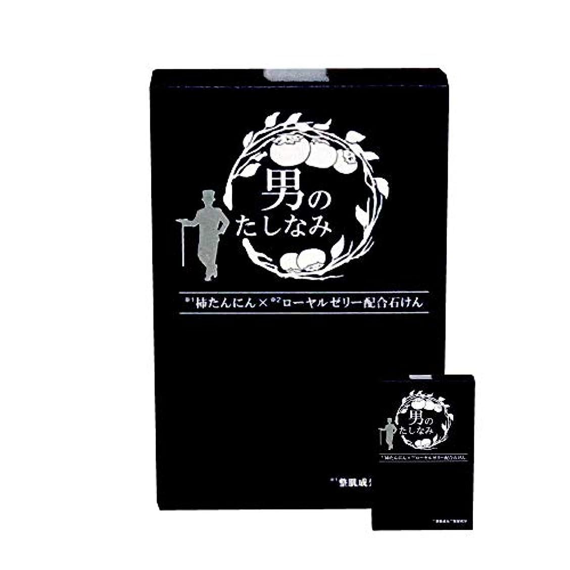 野なアドバンテージ見かけ上柿渋石鹸 男のたしなみ 100g (2個セット)