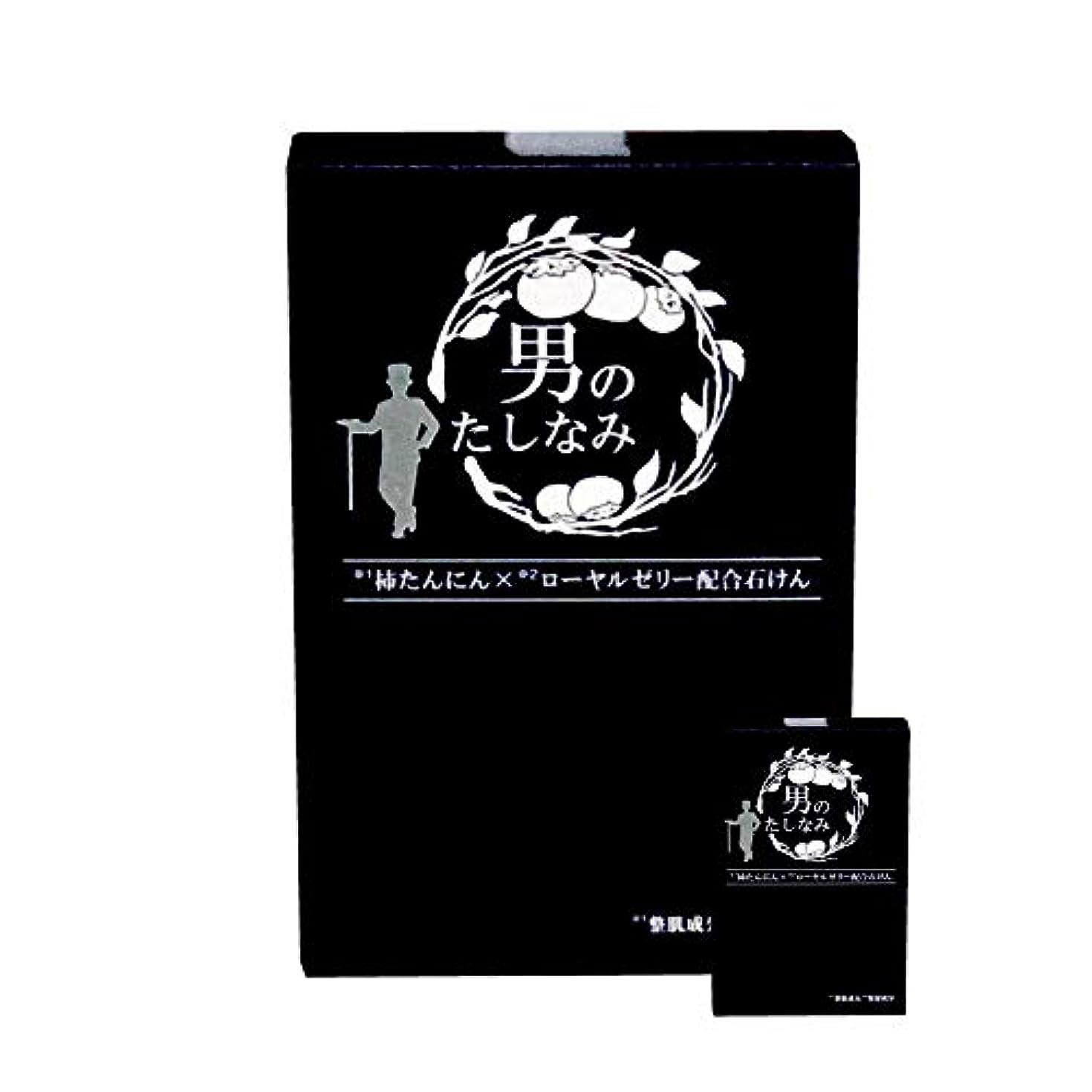 教育者藤色顕微鏡柿渋石鹸 男のたしなみ 100g (2個セット)