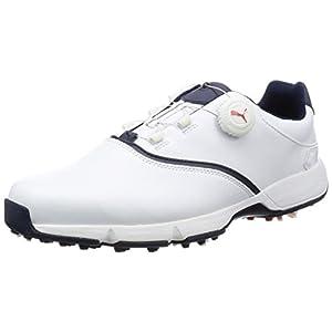[プーマゴルフ] ゴルフシューズ イグナイト ドライブ ディスク 189414 04 プーマ ホワイト/ピーコート/ブライト プラズマ 26.5