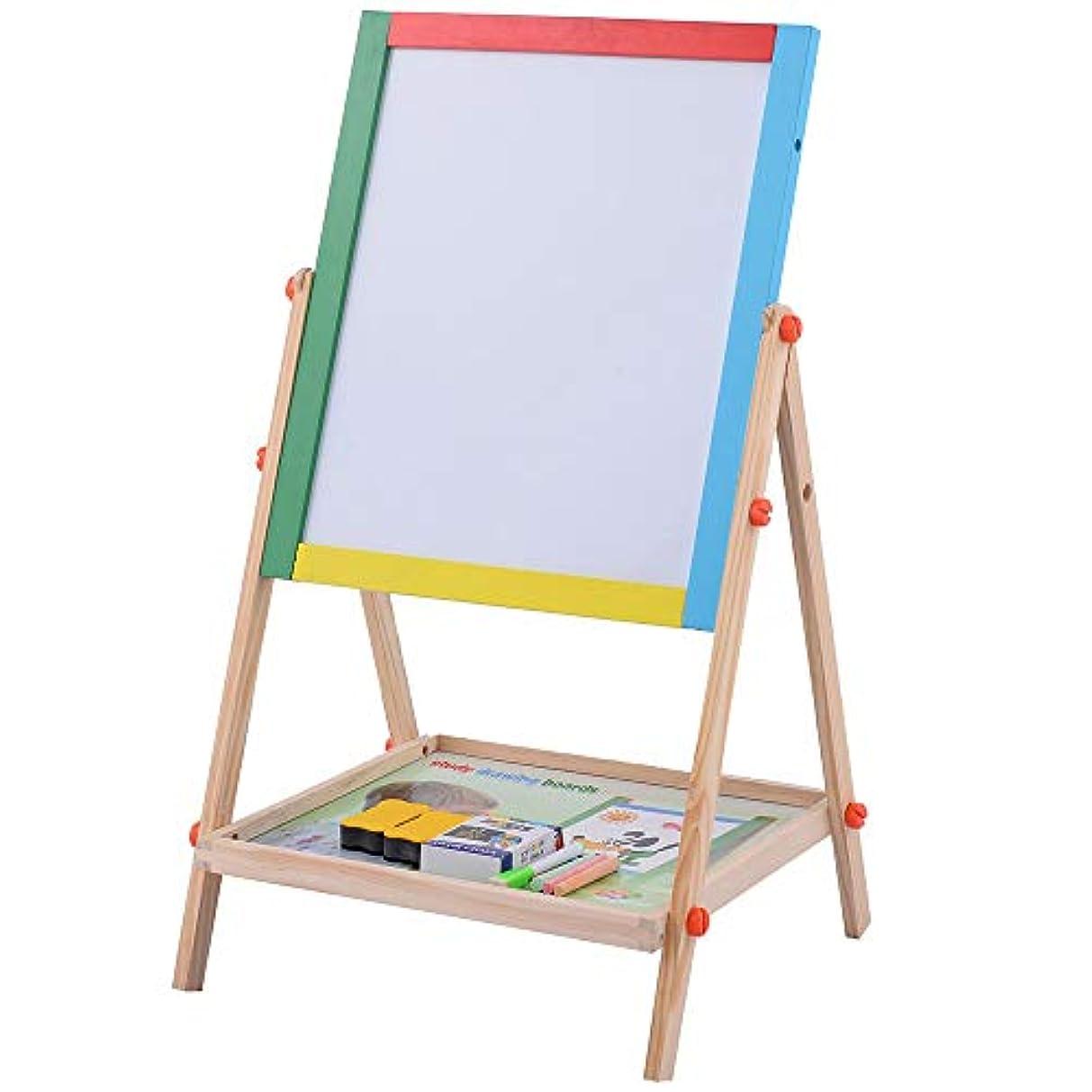 両面調整可能な黒板ライティングボード誕生日プレゼント落書きボード絵画ボード
