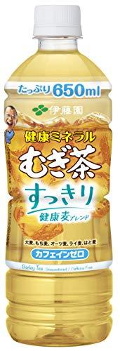 健康ミネラルむぎ茶 すっきり健康麦ブレンド 650ml ×24本
