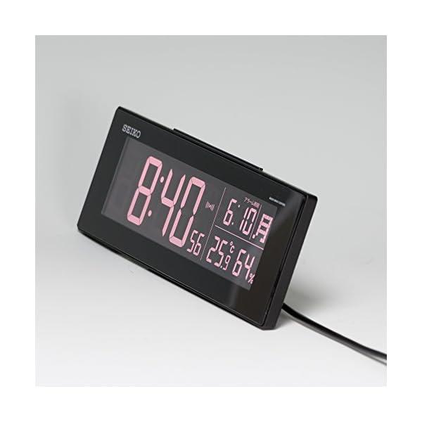 セイコー クロック 目覚まし時計 電波 デジ...の紹介画像18