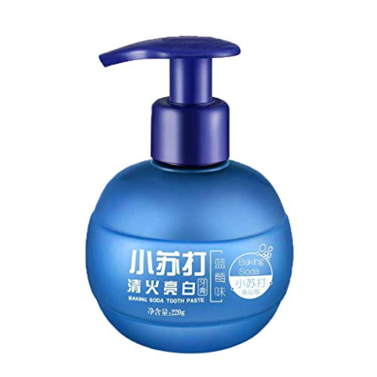 ずるいダイバー肌Dream 歯磨き粉 歯みがき 歯周プロケア 歯科用 ソーダ 口臭予防 美白 220g (ブルー)