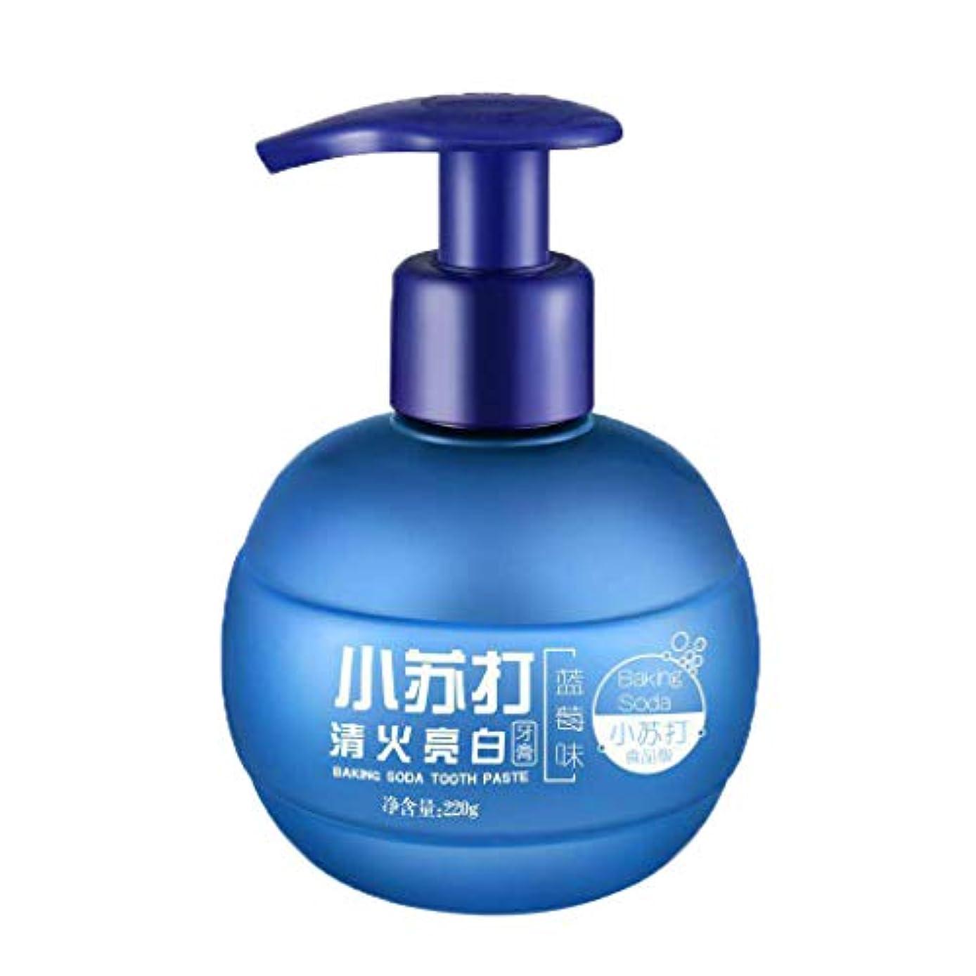 Dream 歯磨き粉 歯みがき 歯周プロケア 歯科用 ソーダ 口臭予防 美白 220g (ブルー)