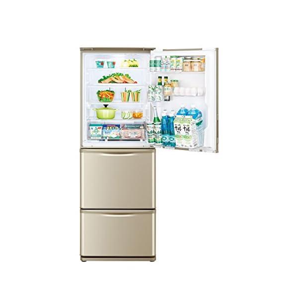 シャープ冷蔵庫どっちもドアタイプ 350Lタイ...の紹介画像3