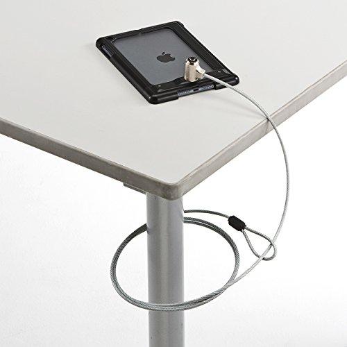 サンワサプライ セキュリティワイヤーロック iPad mini Retina/mini対応 ブラック SLE-26SIPMBK