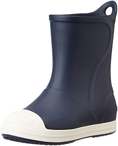 [クロックス] クロックス バンプ イット ブーツ キッズ  レインブーツ 長靴 203515 Navy/Oyster J3(21.0cm)