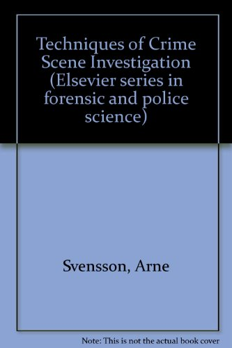 crime scene investigation thesis and introduction Crime scene investigation is a slow and hardworking process, but the methodology that requires perfect care also tends to reveal important clues to the method, motive and suspect of the crime csi investigators combine law enforcement tactics with scientific knowledge in their work.