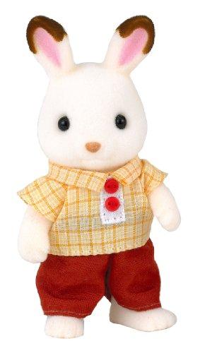 シルバニアファミリー 人形 ショコラウサギファミリー ショコラウサギのお父さん