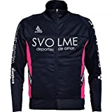 SVOLME(スボルメ) ジュニア ジャージジップトップ 171-23501 120サイズ ネイビー/ピンク