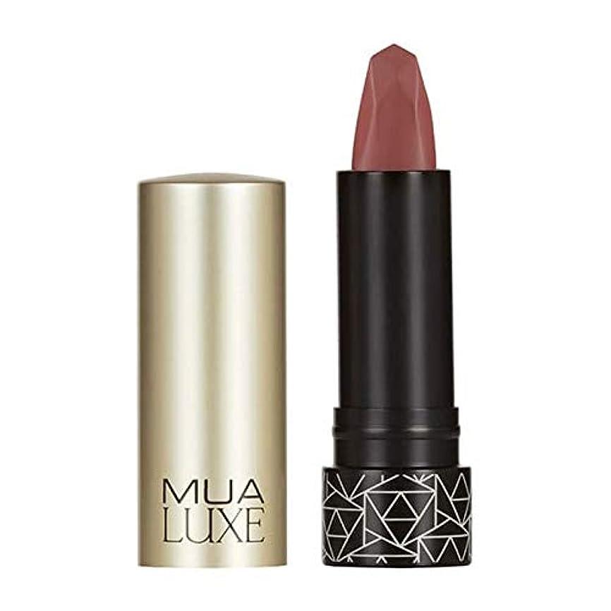 パイプラインプラスチックメンタリティ[MUA] Muaラックスベルベットマットリップスティック#8 - MUA Luxe Velvet Matte Lipstick #8 [並行輸入品]