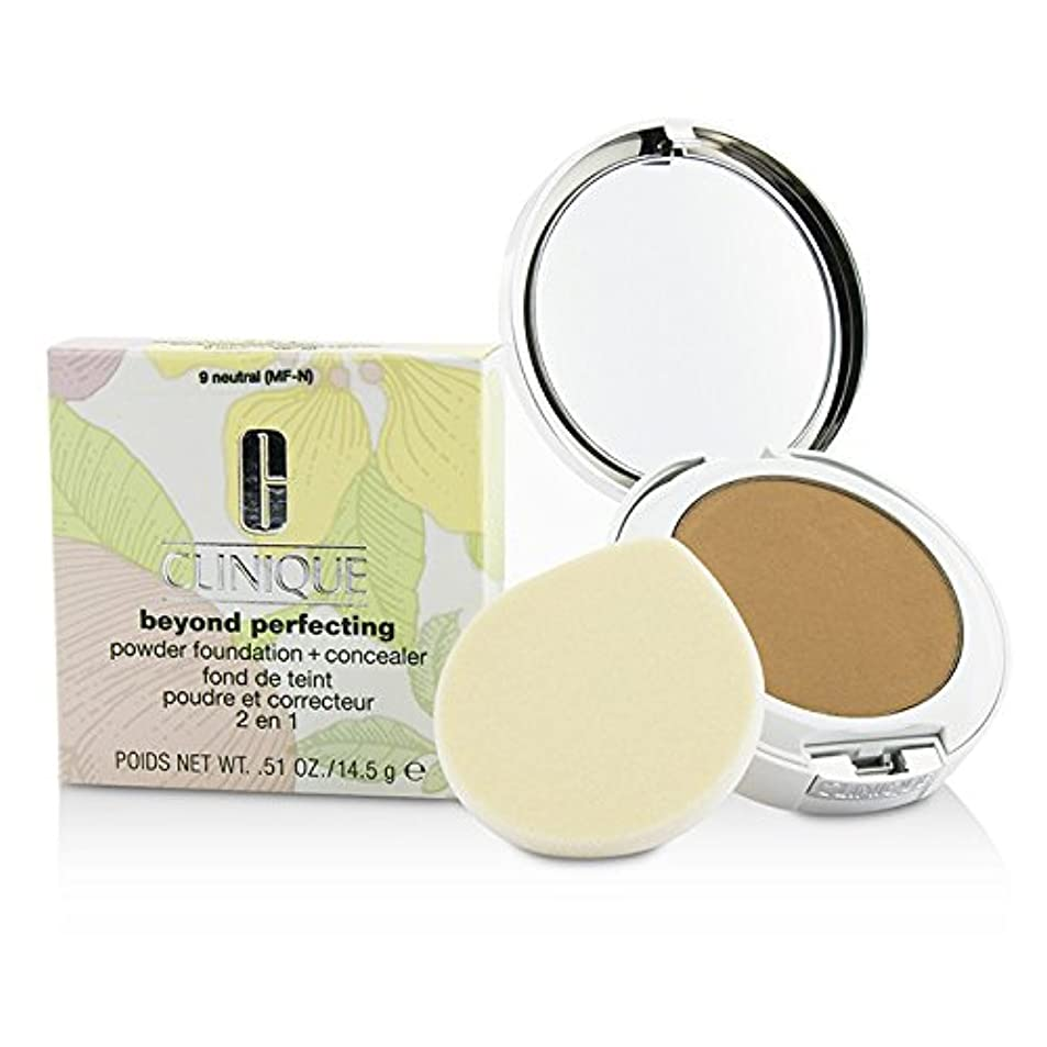 定常現金森クリニーク Beyond Perfecting Powder Foundation + Corrector - # 09 Neutral (MF-N) 14.5g/0.51oz並行輸入品